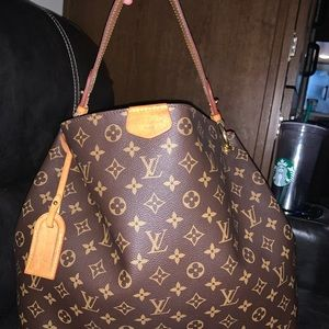 Louis Vuitton GRACEFUL MM 4 trad3 authentic!